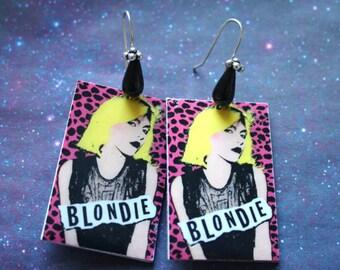 Orecchini Leopard Blondie - Silver earrings Leopard Blondie