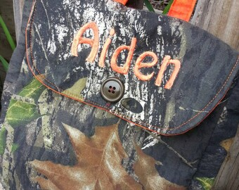 Personalized Toddler Backpack, Camo Backpack