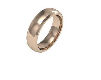 Classic Weddind Band - 6mm wide