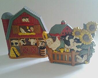 Farm Animal Farmhouse Kitchen Decor Etsy