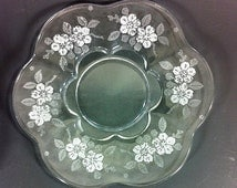 Duncan Miller Language of Flowers  Luncheon Plate Canterberry