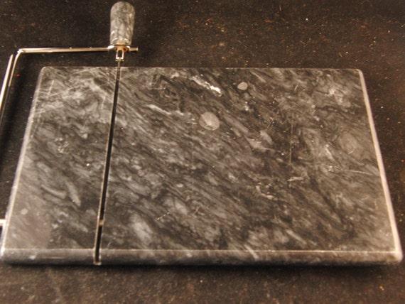 Marble Black Cheese Tray