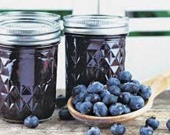 Homemade Blueberry Lime Jam