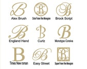 "Wooden Letter ""B"" Large or Small, Unfinished, Unpainted -- Perfect for Crafts, DIY, Nursery, Kids Rooms, Weddings"