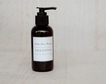 Unscented Facial Lotion, Dry Skin Treatment, Sensitive Skin