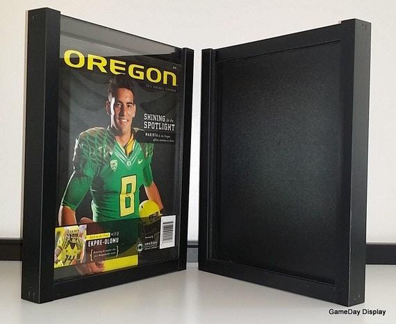 Magazine Standard Display Frame Case Black Shadow By