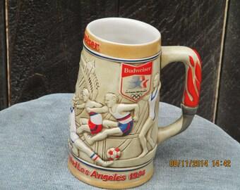 Budweiser 1984 Summer Olympic Beer Stein/Mug