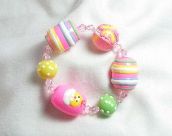 Easter Egg Easter Bracelet