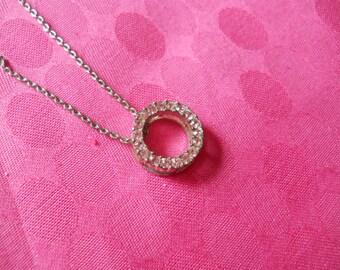 circle of pink stones