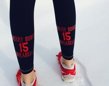 Custom Leggings - Design your own! - Volleyball - Running - Cross Fit - Yoga - Workout