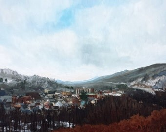 """Original Oil Landscape Painting, Tyrone, Oil on 18x24"""" canvas, by Sean Bodley"""
