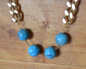 50% off sale! St. Lucia Statement Necklace