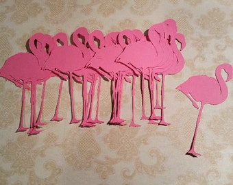 Die Cut, Flamingos.    #OR-13