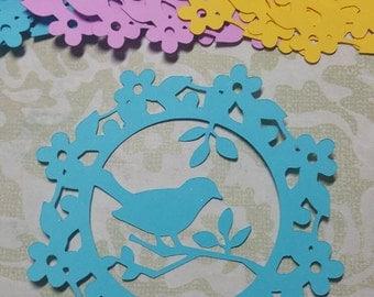 Die cut Bird Embellishments.  #R-31