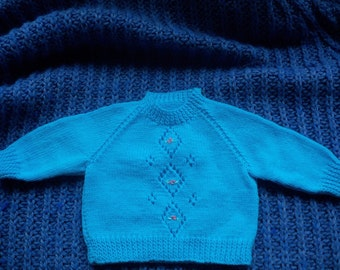 Turquoise Baby Jumper