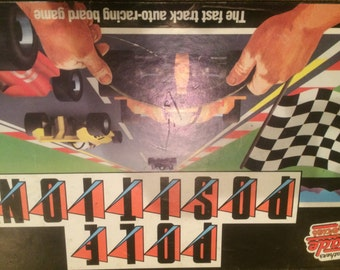 Classic - Pole Position Board Game - Complete Very Rare - 1980's