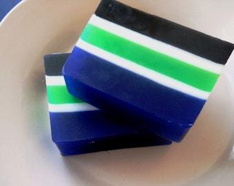 Blue Sugar Type Men's Soap, Stocking Stuffers, Stocking Stuffers for men, Small gifts for men