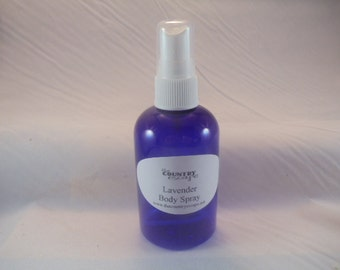 Lavender Body Spray Mist - Essential Oil - Alcohol Free - Spray on Bed for Relaxation