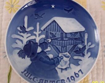 MInt Condition B & G Fuglenes Jul Denmark KJQBENHAVIN