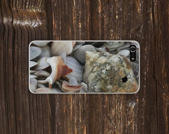 beach shells iPhone case iphone 4/4S, iphone 5/5s, iphone 6 and 6 plus case sunset beach ocean shells