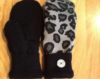 Cute Animal Print Mittens