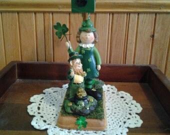 LEPRECHAUN MAILBOX #2 Irish St Patrick's Day decoration gift