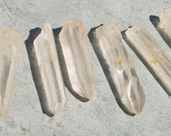 Natural, Unpolished Madagascar Quartz Crystal