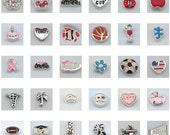 Floating Charms for Your Floating Memory Lockets DIY Locket Bracelet