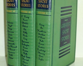 1940 Colliers Greatest Short Stories Volume I, III & IV (1 3 6)