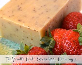 Strawberry Champagne Soap Bar