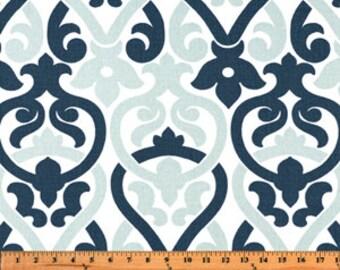 1/2 or 1 yard fabric -Home Decor Fabric -Premier Prints Alex Navy