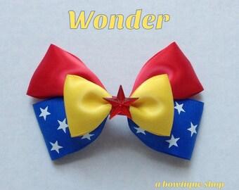 wonder hair bow