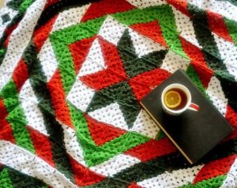 Christmas Granny Quilt Blanket