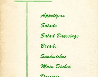 """1950 """"Cottage Cheese Recipe Book"""""""