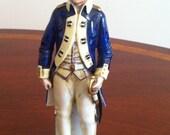 Capo-di-Monte American Revolution Figurine