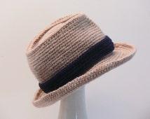 Crochet Pattern - Mens Hat - Fedora -  Summer, Winter, Sizes Baby, Toddler, Boys, Teen, Men's M, Men's L, Men's X L Meadowvale Studio  #110