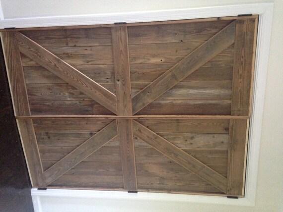 British brace barn door room divider made by for Barn door dividers