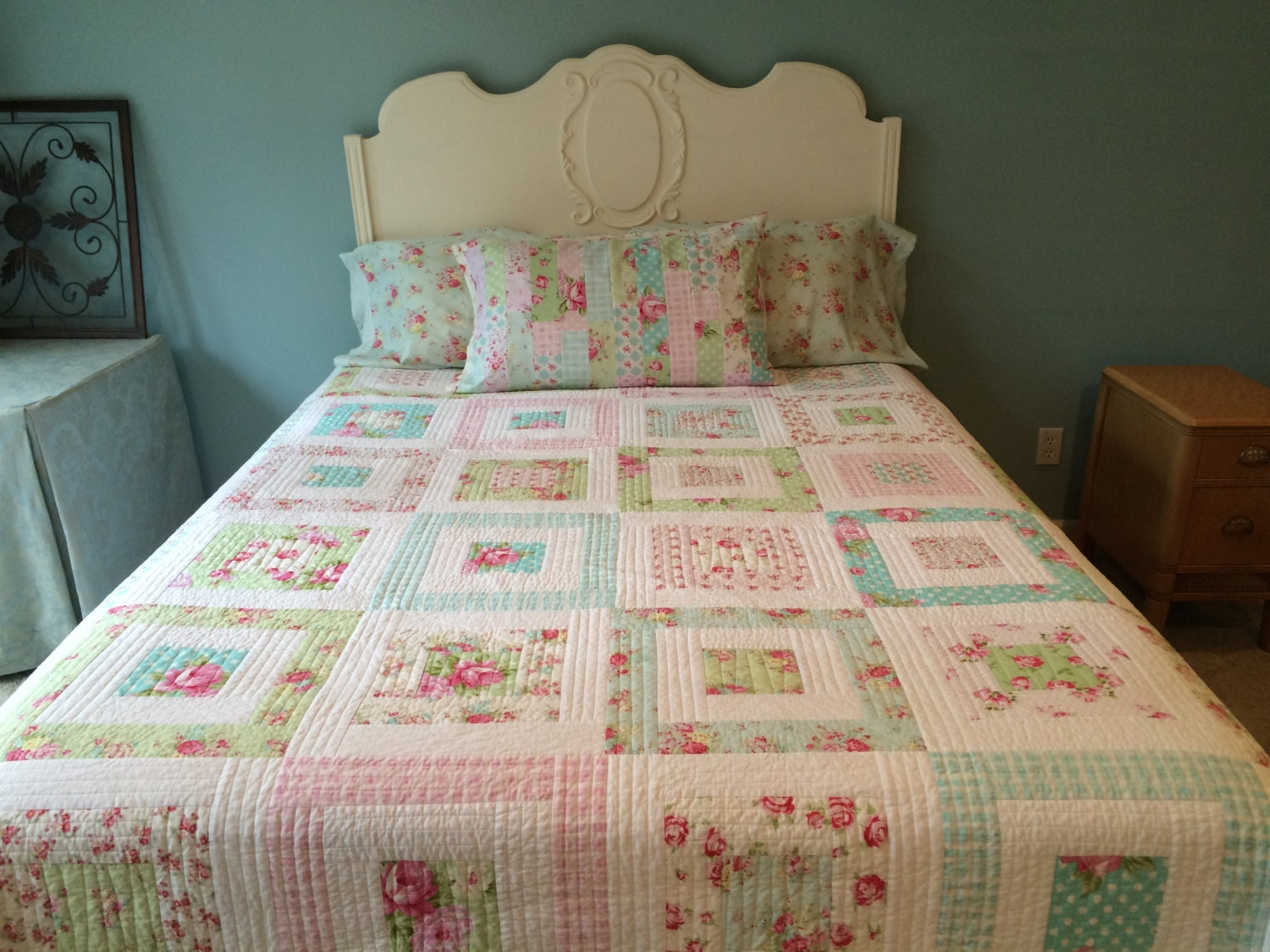 Shabby Chic Quilt Made To Order Tanya Whelan By
