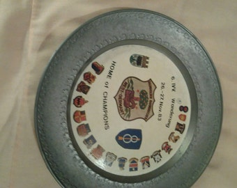 1983 6.ivv Wanderung Pewter Plate West Germany