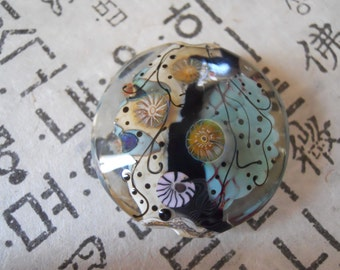 Handmade Focal Glass Lampwork Bead-SALE