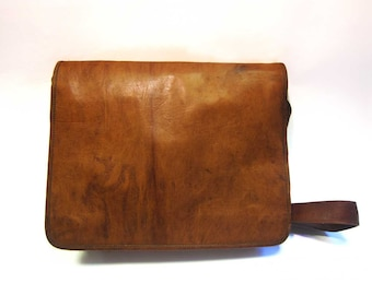 Handmade Leather Vintage Style Bag - Satchel Bag - Messenger - Laptop Bag - Cross Body Bag