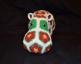 Festive Huggable Hippo