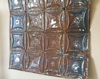 Farmhouse Tin Wall Decor