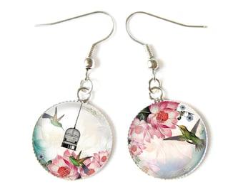 Hummingbirds earrings