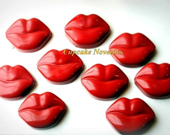Valentine's Day Edible Gifts Love & Kisses Chocolate covered Oreos Cookies Red Lips Kiss Me 50 Shades of Grey Party Favors Hot Dessert Sweet