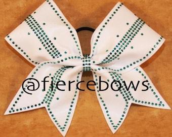 Simply Perfect Rhinestone Cheer Bow