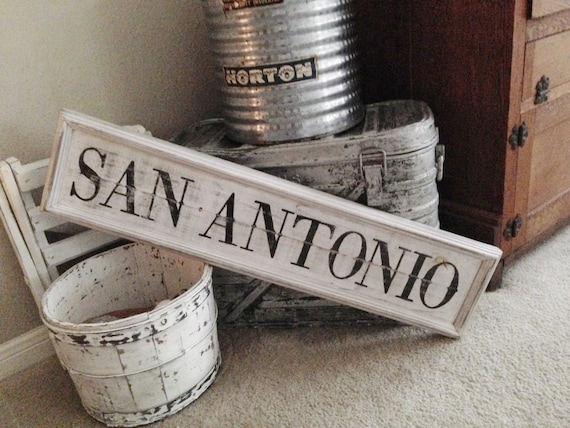 Items Similar To San Antonio Wooden Sign San Antonio