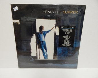 Sealed Henry lee summer Vinyl Record LP w/sticker
