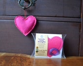 Kids Sewing Kit, Felt Heart Lavender Lovey