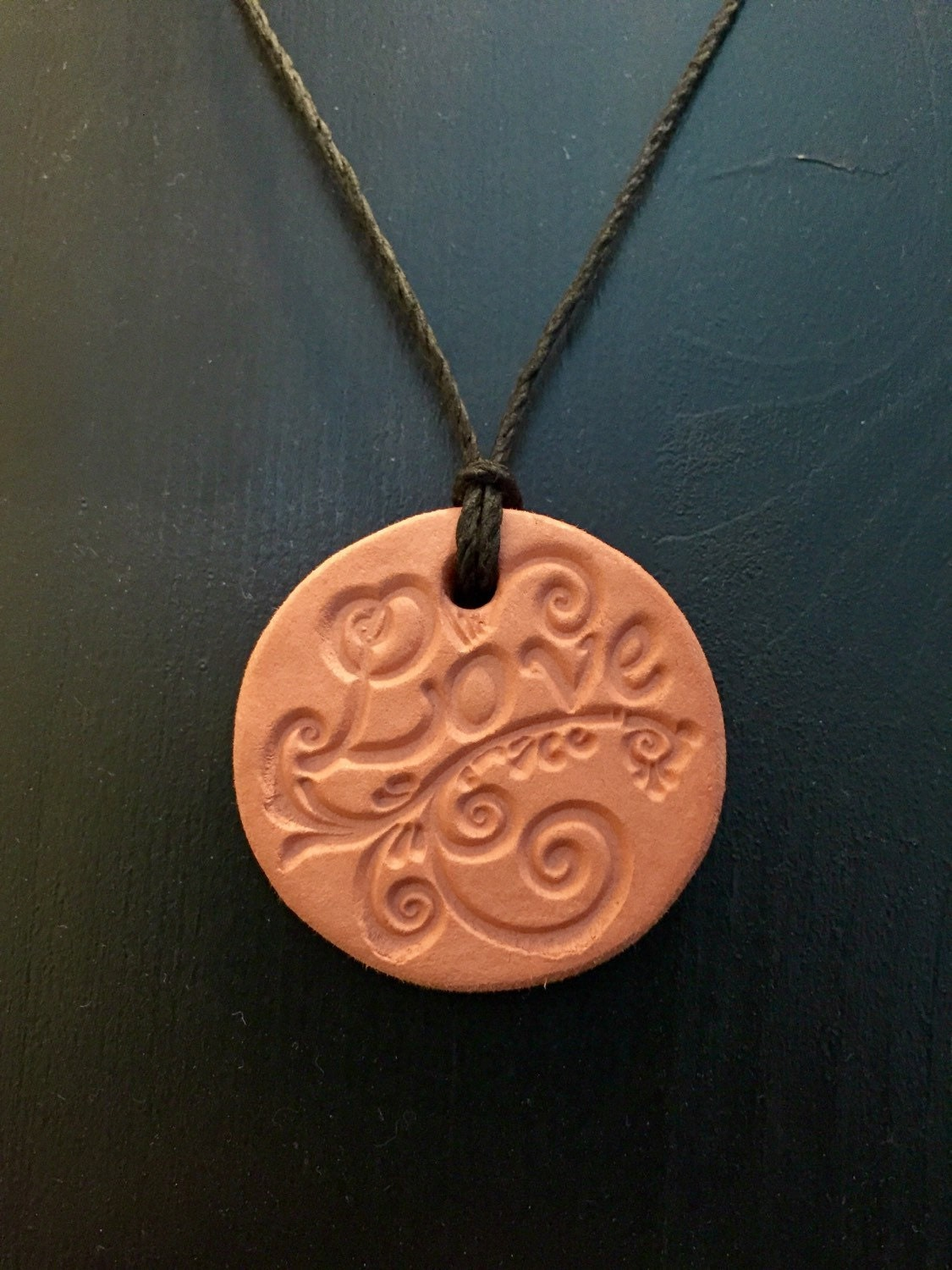 Diffuser Necklace. Clay. Aromatherapy. Essential Oils. Clay